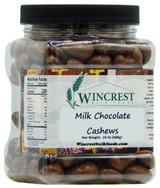 Milk Chocolate Cashews - 1.5 Lb Tub