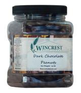Dark Chocolate Peanuts - 1.5 Lb Tub