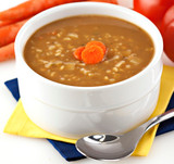 Bulk Beef Barley Soup Mix - No MSG
