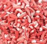 Peppermint Candy Cane Sprinkles - 5 Lb Case