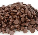 Blommer Semi-Sweet Chocolate Drops, 1M - 25 Lb Case