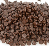 Blommer Semi-Sweet Chocolate Drops, 4M - 25 Lb Case