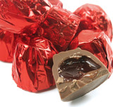 Asher's Milk Chocolate Foil Wrapped Cordial Cherries - 6 Lb Box