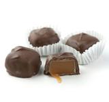Asher's Sugar Free Milk Chocolate Vanilla Caramels  - 6 Lb Case