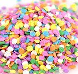 Pastel Confetti Shapes - 5 Lb Case