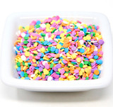 Pastel Sequin Shapes - 5 Lb Case