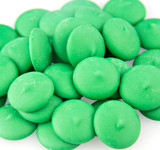 Merckens Dark Green Coating Wafers - 25 Lb Case