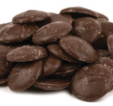 Merckens Dark Chocolate Coating Wafers - 50 Lb Case
