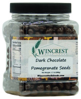 Dark Chocolate Covered Pomegranate Seeds - 1.5 Lb