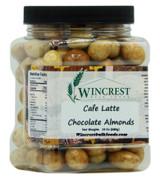 Cafe Latte Milk Chocolate Almonds - 1.5 Lb Tub