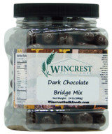 Dark Chocolate Bridge Mix - 1.5 Lb Tub