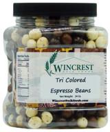 Tri Colored Espresso Beans - 1.5 Lb Tub