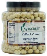 Coffee & Cream Espresso Beans - 1.5 Lb Tub