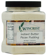 Instant Butter Pecan Pudding - 1.5 Lb Tub