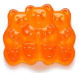 Orange Gummi Bears - 5 Lb