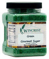 Extra Large Gourmet Sanding Sugar (Green) - 2 Lb Tub