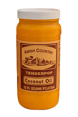 Tenderpop Coconut Oil - 15 Oz Jar
