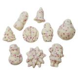 Mini White Chocolate Peppermint Bark Bites - 1.25 Lb