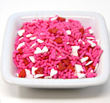 Heart Shape Sprinkle Mix - 5 Lb Case