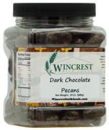 Dark Chocolate Pecans - 1.5 Lb Tub
