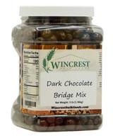 Dark Chocolate Bridge Mix - 3 Lb Tub