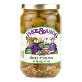 Pickled Green Tomatoes - 16 Oz (Case of 12)