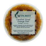 Candied Orange Peel ~ 1 Lb Tub