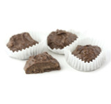 Asher Milk Chocolate Coconut Clusters - Sugar Free - 5 Lb Box