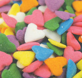 Pastel Heart Shapes - 5 Lb Case