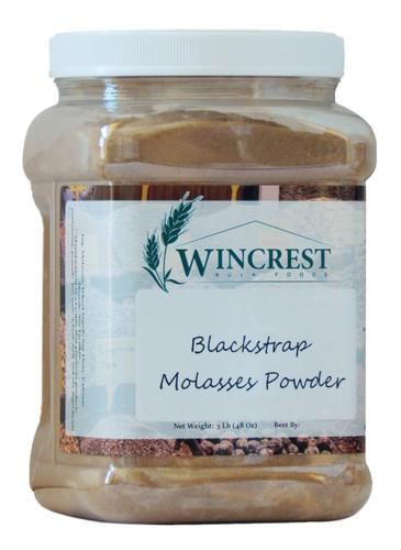 Blackstrap Molasses Powder - 3 Lb Tub