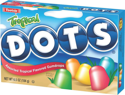 Tropical Dots - 6.5 Oz Box
