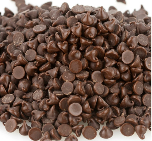 Blommer Semi-Sweet Chocolate Drops, 4M - 25 Lb Case