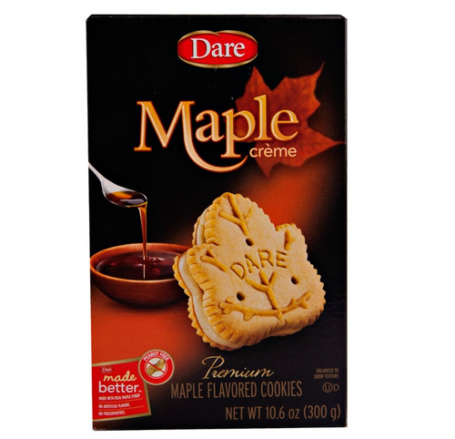 Dare Maple Creme Cookies - 10.2 Oz Box