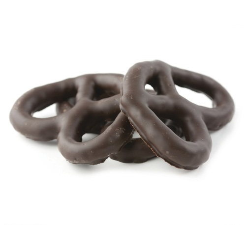 Asher's Dark Chocolate Covered Pretzels - 6 Lb Box