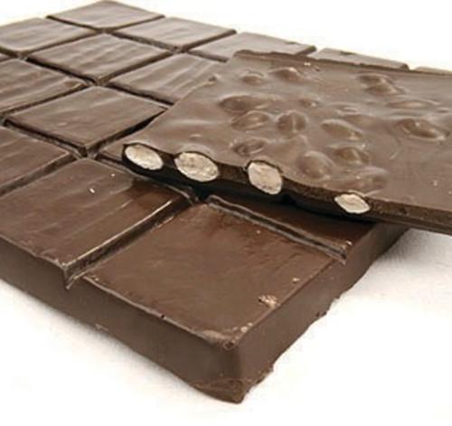 Asher's Sugar Free Dark Chocolate Almond Bark - 6 Lb Box