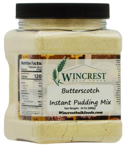 Instant Butterscotch Pudding - 1.5 Lb