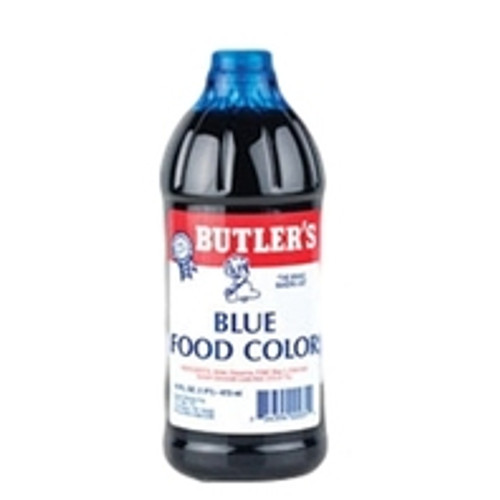 Butlers Blue Food Coloring - 16 Oz Bottle