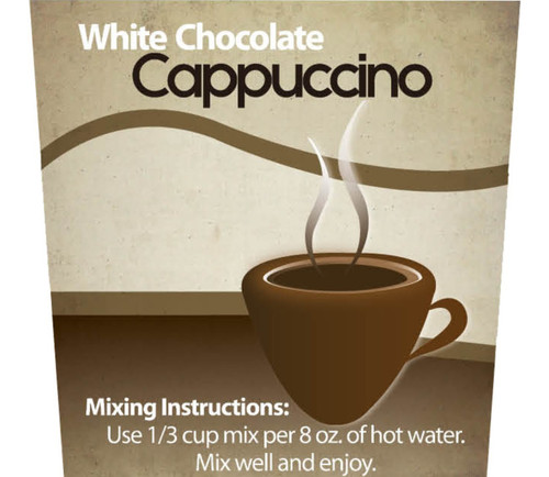 White Chocolate  Cappuccino Mix