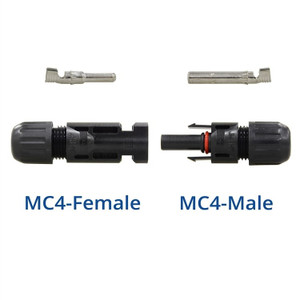MC4 Male/Female Solar Panel Cable Connectors (5 Pair)