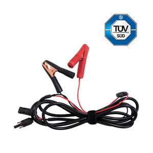MC4 to Alligator Clips 14 AWG Cable
