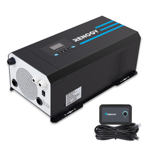3000W 12V Pure Sine Wave Inverter Charger w/ LCD Display