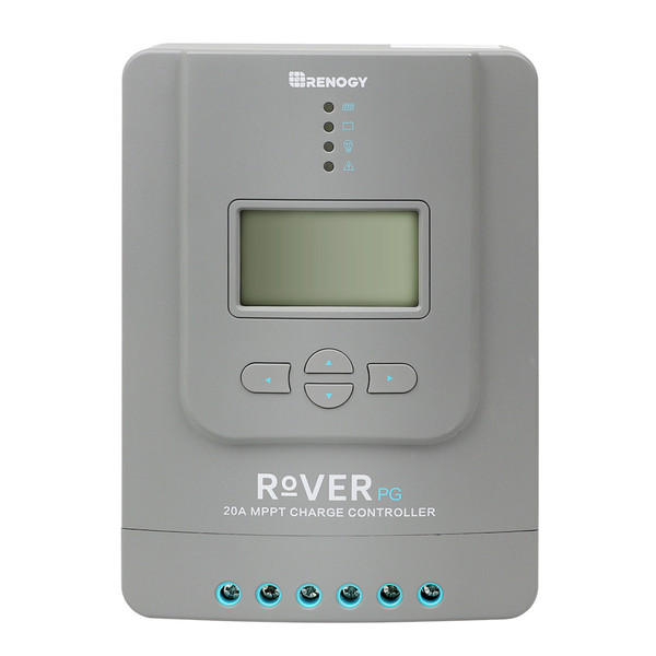 Rover 20 Amp Positive Ground MPPT Solar Charge Controller