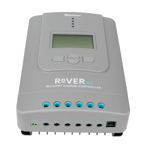 Rover 40 Amp Positive Ground MPPT Solar Charge Controller