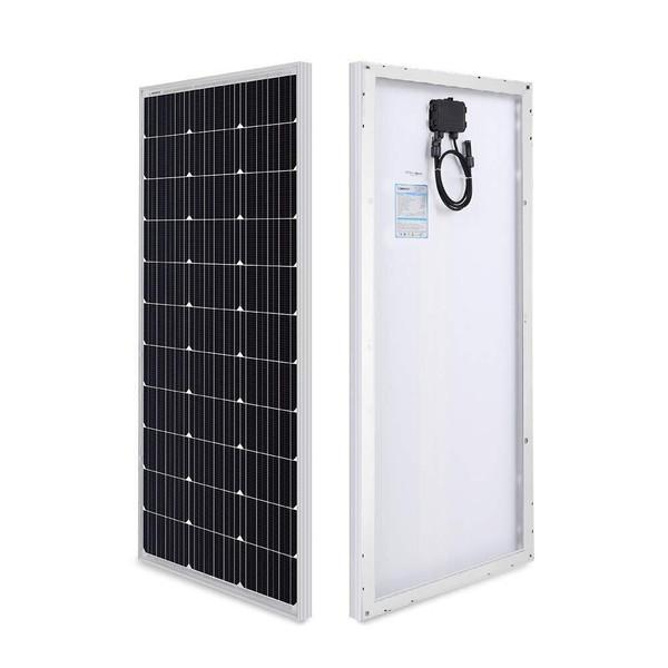 Renogy 2 Pieces 100 Watt 12 Volt Monocrystalline Solar Panel