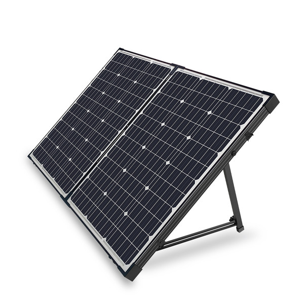 Renogy 100 Watt 12V Foldable Solar Suitcase Controller-10A PWM Charge Controller