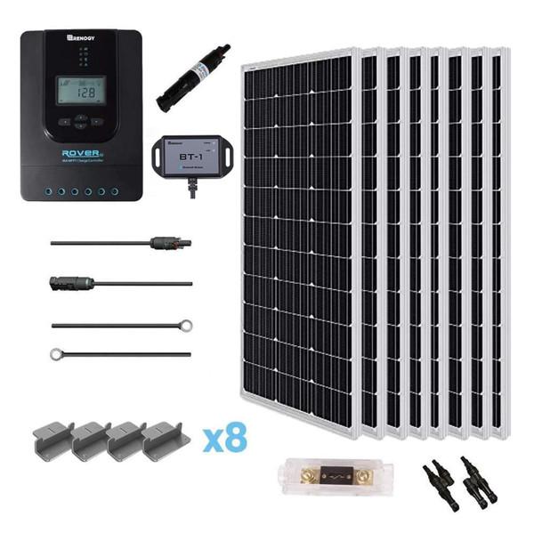 New 800 Watt 24 Volt Solar Premium Kit