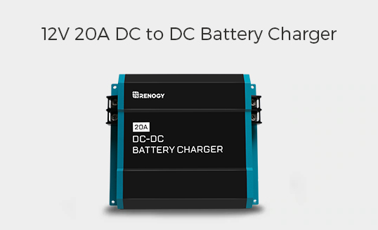 12V 20A DC TO DC ON-BOARD BATTERY CHARGER