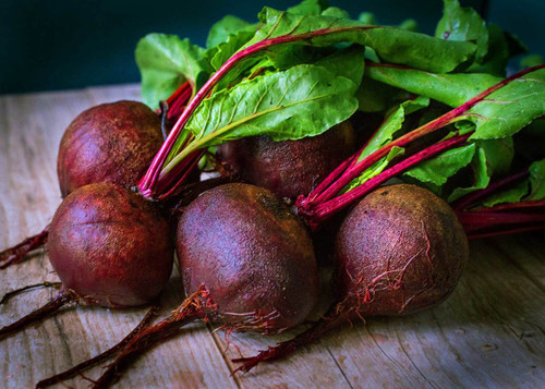 Beetroot 'Noire D'Egypte' (Beta Vulgaris L.) Organic Vegetable Plant Heirloom, 160-220 Seeds