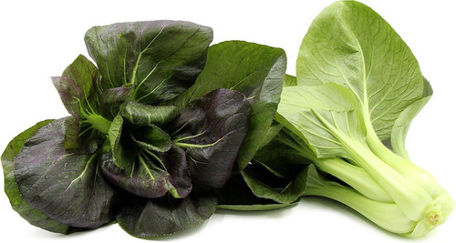 Bok Choy Purple 'Red Choi H' (Brassica Rapa Chinensis Group) Vegetable Plant Hybrid, 1.5g/0.05oz (~150)  Seeds