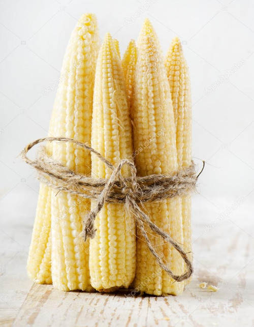 Corn 'Minigold' (Zea Mays) Flower Plant Heirloom, 35-49 Seeds